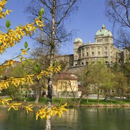 Bundeshaus Südliche Ansicht (Copyright Schweizer Tourismus)
